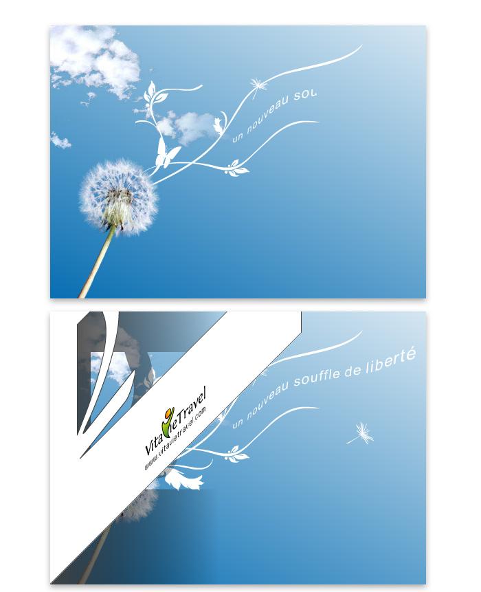 Animation carte de voeux 2007 VitavieTravel