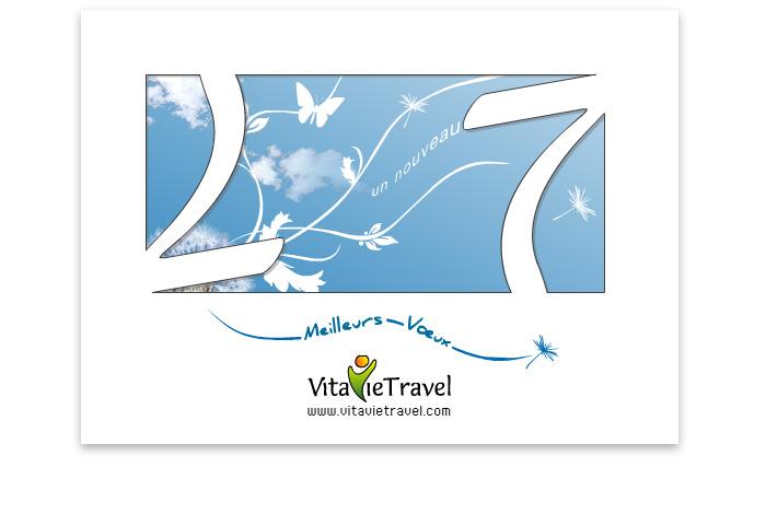 Carte de voeux 2007 VitavieTravel