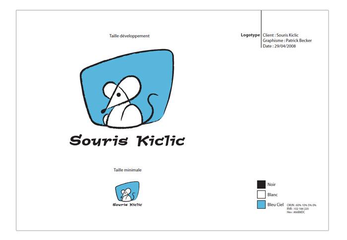 Charte logo Souris Kiclic