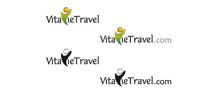 Déclinaison du logo VitavieTravel