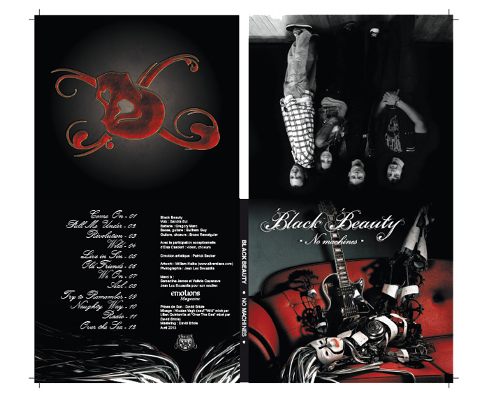 Digipack CD Black Beauty