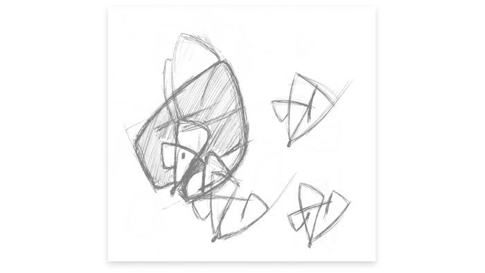Esquisse 2 du logo Souris Kiclic