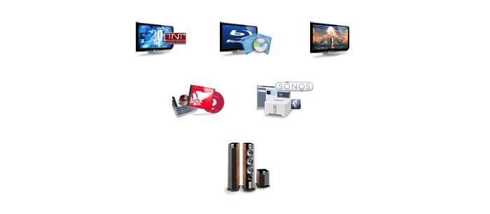 Icônes appareils électroniques