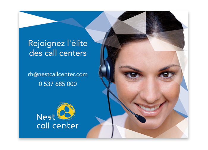 Image finale publicité Nest Call Center