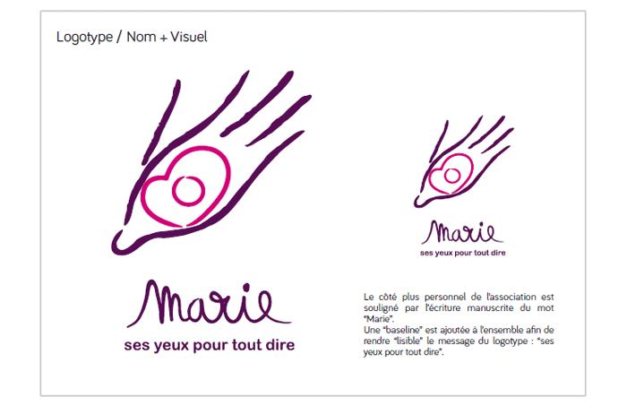 Logo en couleur - Marie