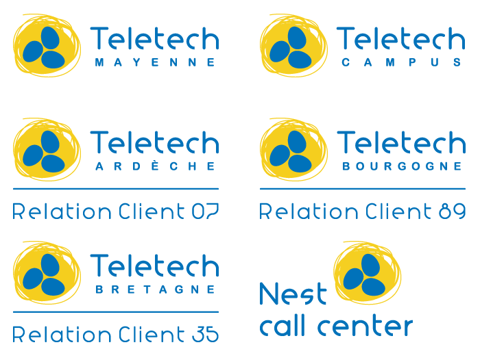 Logo filiales Teletech International