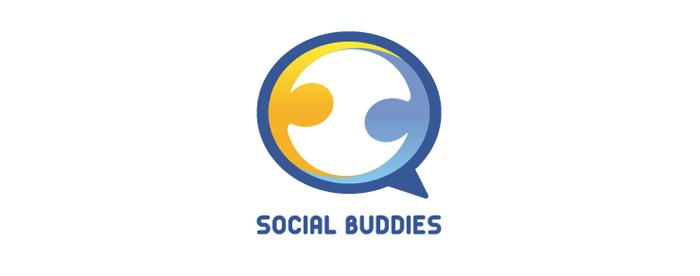 Logotype Social Buddies