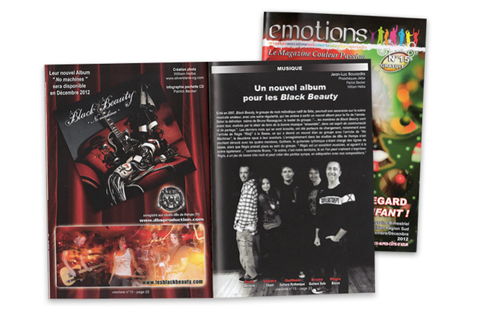 Magazine emotions sue Black Beauty
