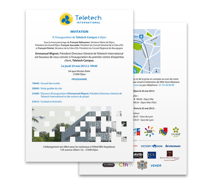 Programme inauguration Teletech Campus
