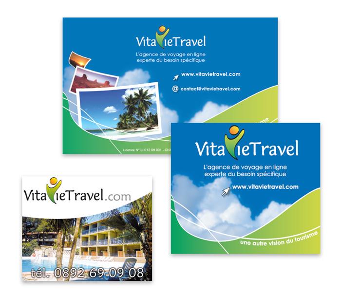 Publicités papier VitavieTravel