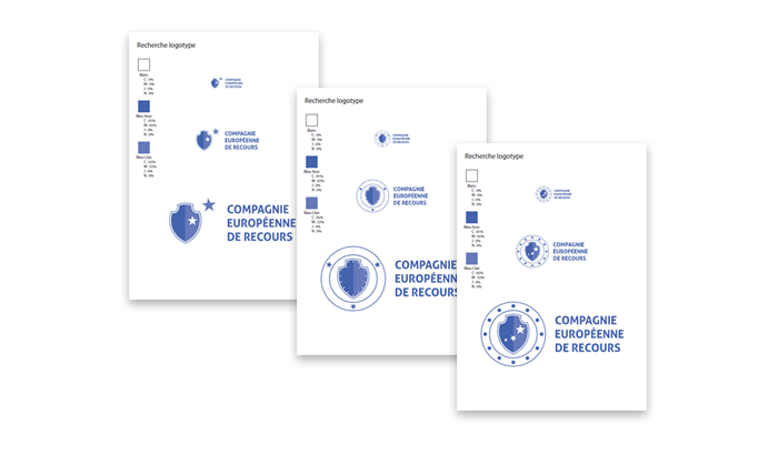 Recherche finale logo CER