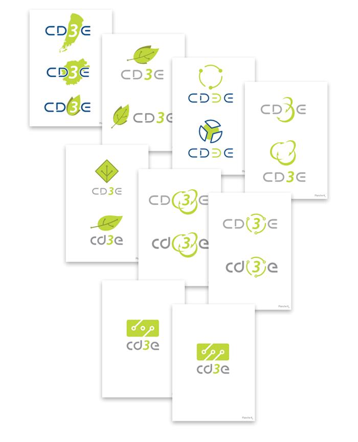 Recherche intermédiaire du logo CD3E