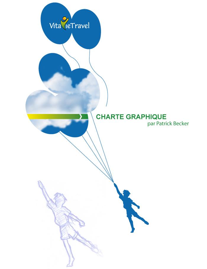 Visuel de la charte graphique VitavieTravel