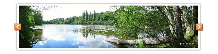 Visuel diaporama étang Pays de Tronçais
