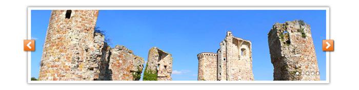 Visuel diaporama ruines Pays de Tronçais