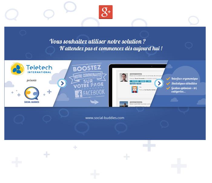 Visuel Google+ Social Buddies