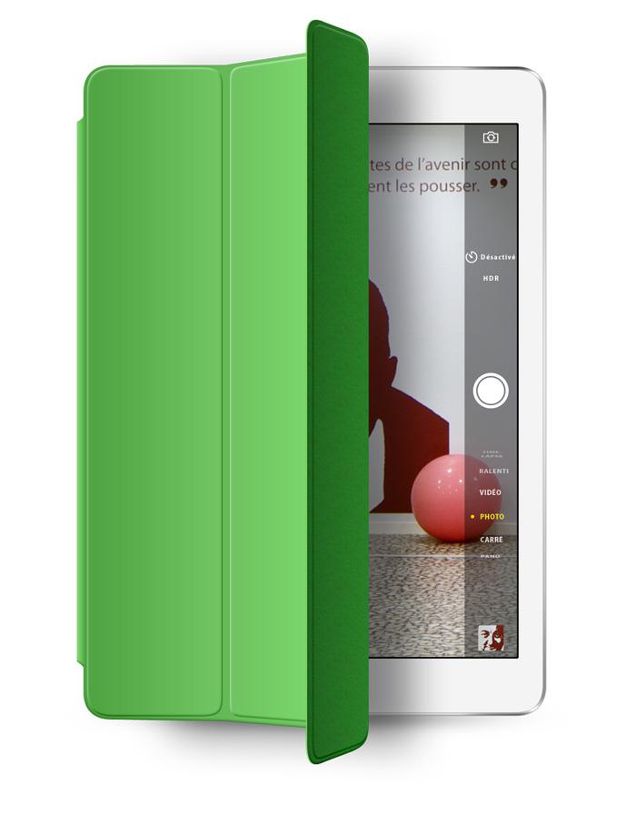 Visuel iPad Air et smartcover