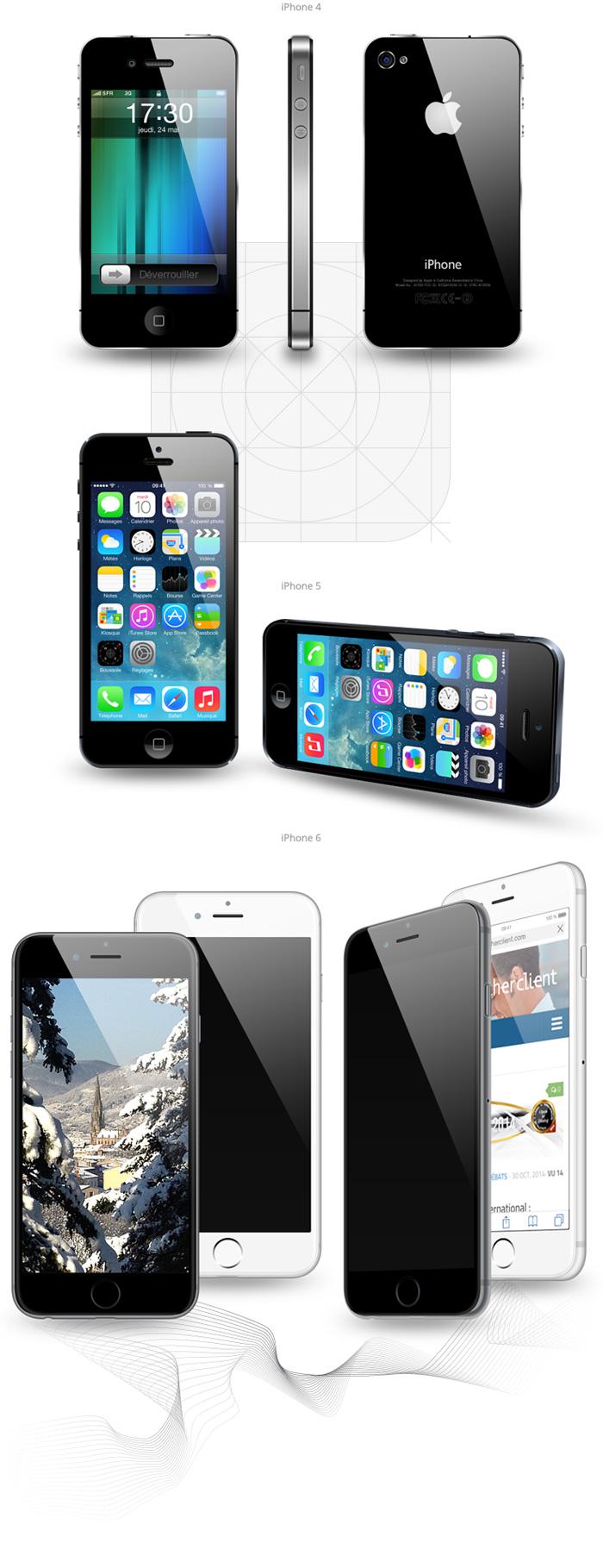 Visuel iPhones