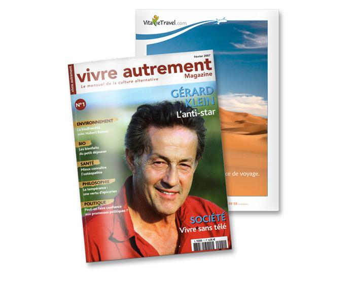 Visuel magazine Vivre Autrement