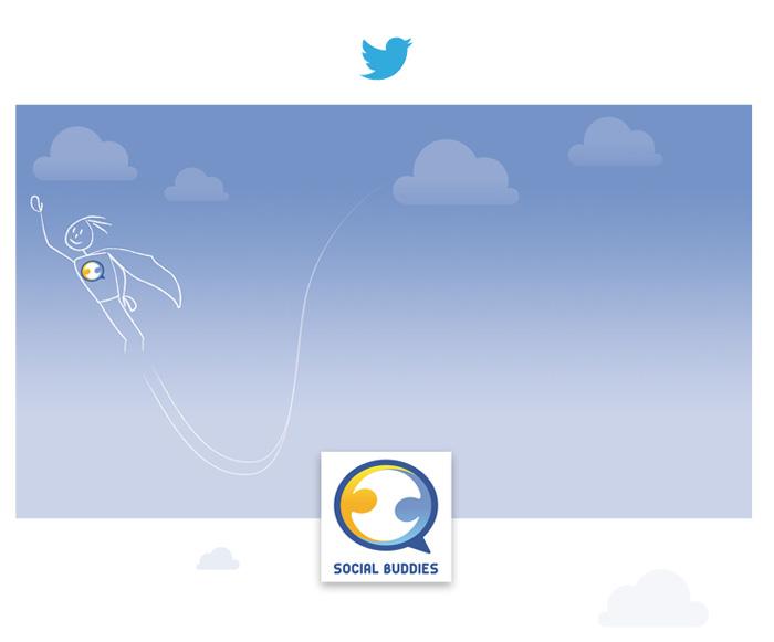 Visuel Twitter Social Buddies