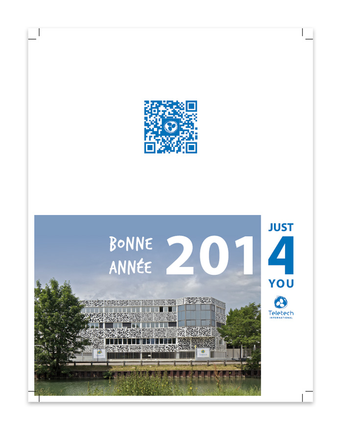 Carte de voeux 2014 Teletech International