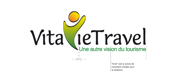 Construction du logo VitavieTravel