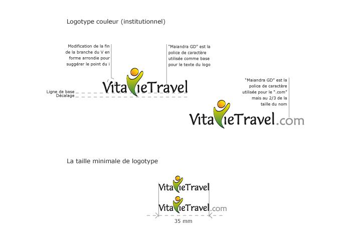 Elaboration du logo VitavieTravel
