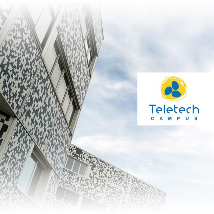 Façade Teletech Campus