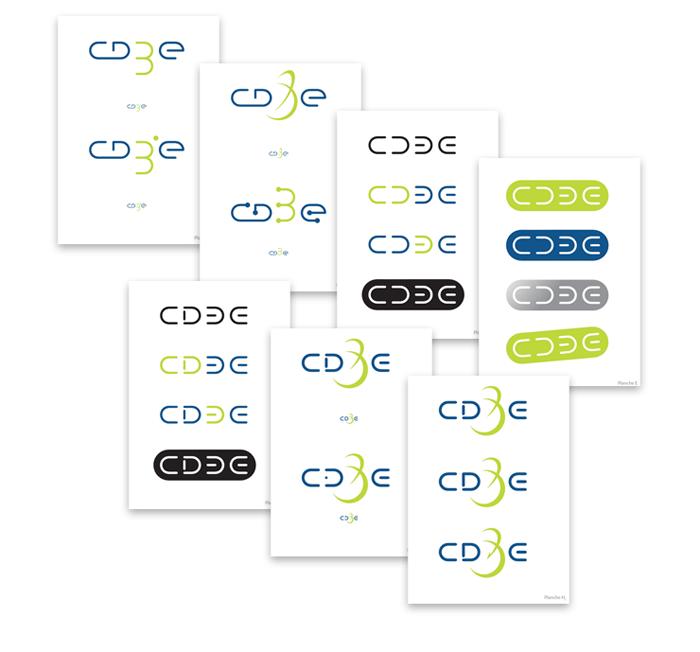 Recherche initiale du logo CD3E