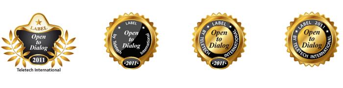 Recherche logotype Open to dialog