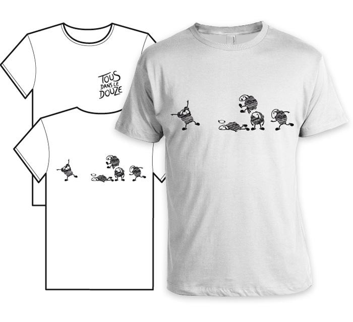 T-shirt brebis