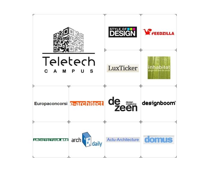 Visuel logos architecture Teletech Campus