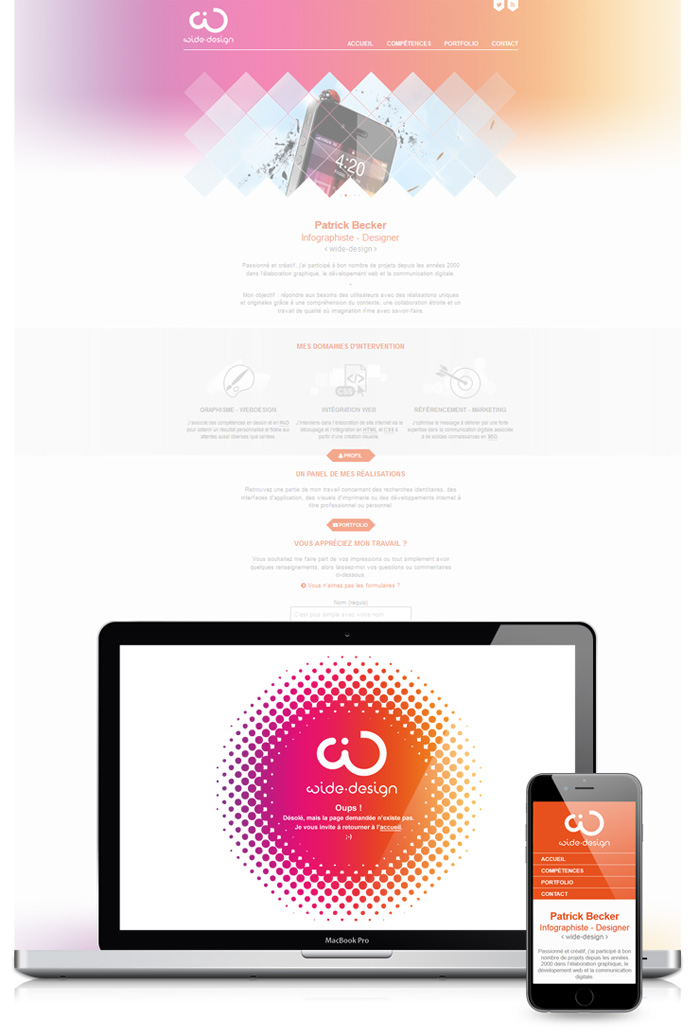 Visuel site web wide-design