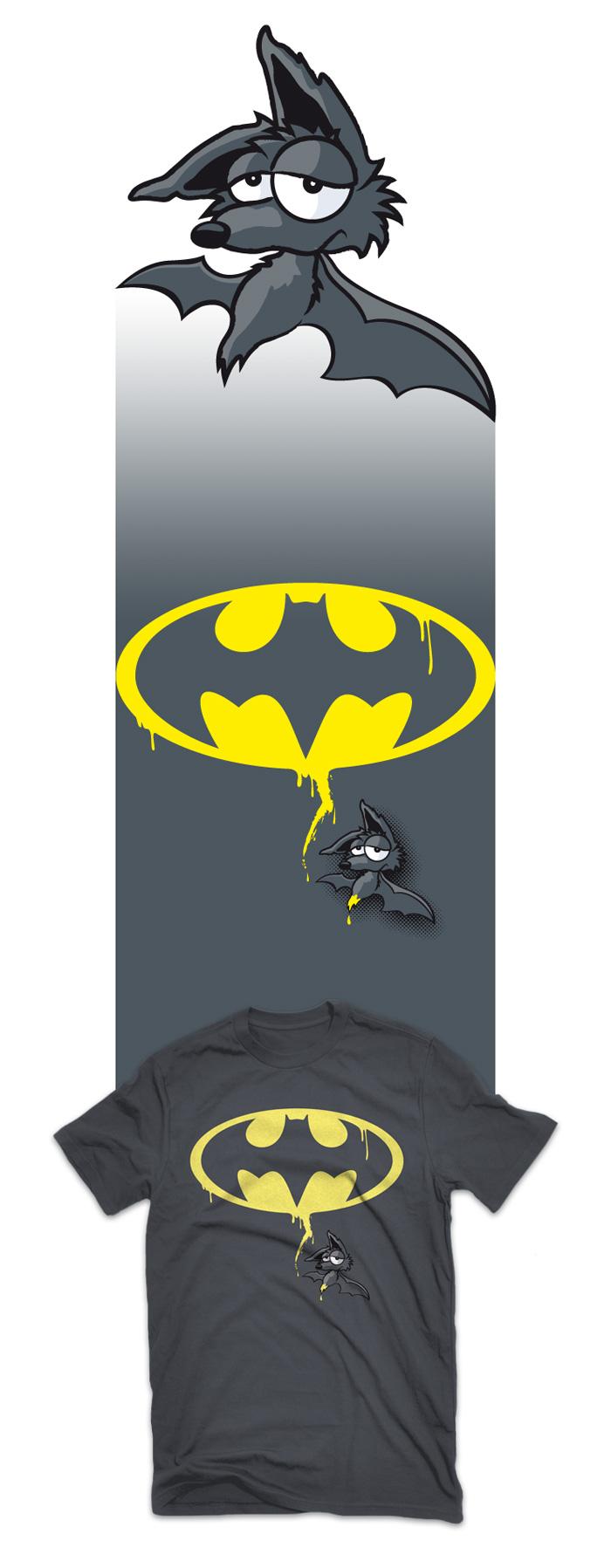 Visuel t-shirt Bad Sauve-Souris