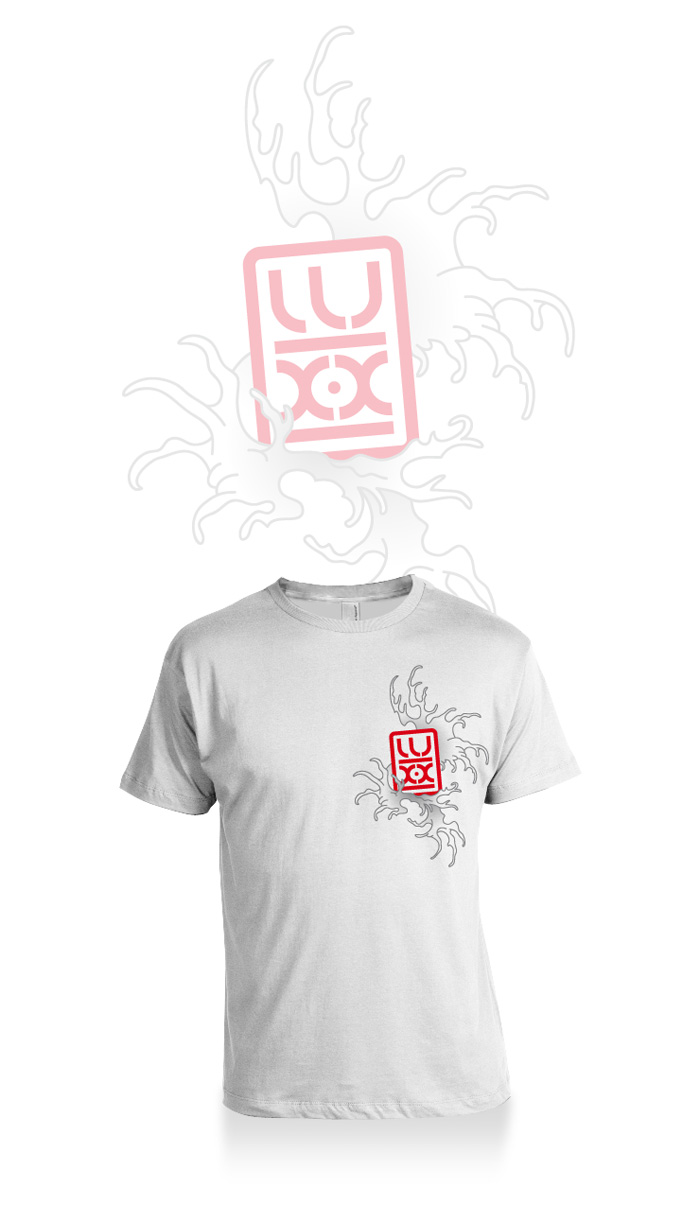 Visuel tee-shirt lux-x
