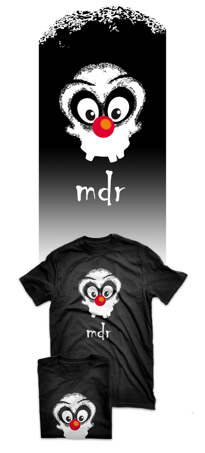 Visuel t-shirt mdr