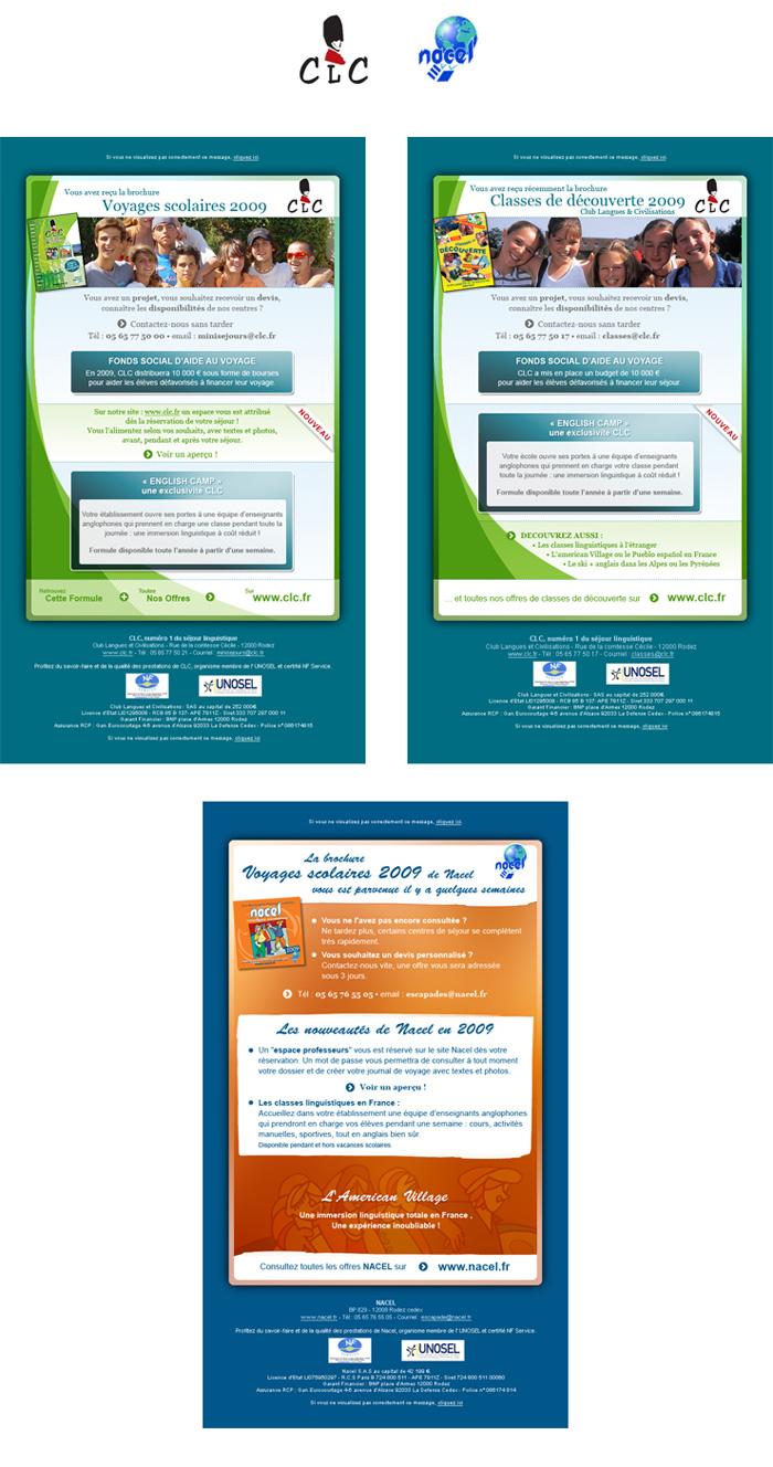 Visuels emailing CLC - Nacel