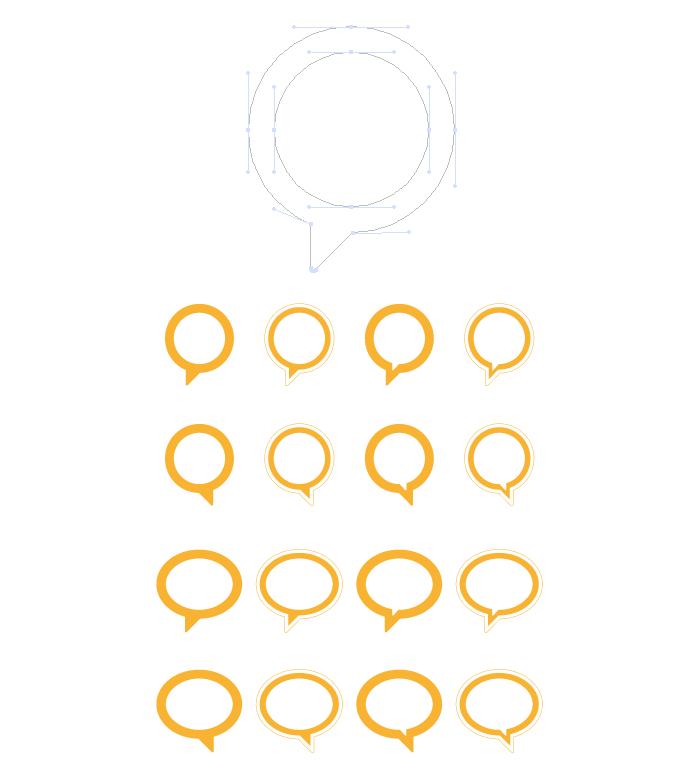 Visuel bulles rondes