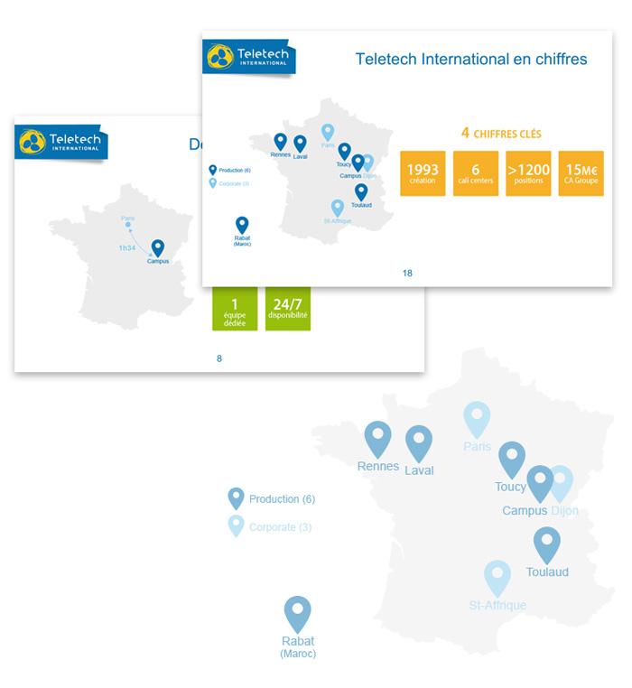 Visuel exemples d'utilisation de point de localisation