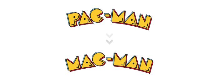 Visuel PAC-MAN MAC-MAN