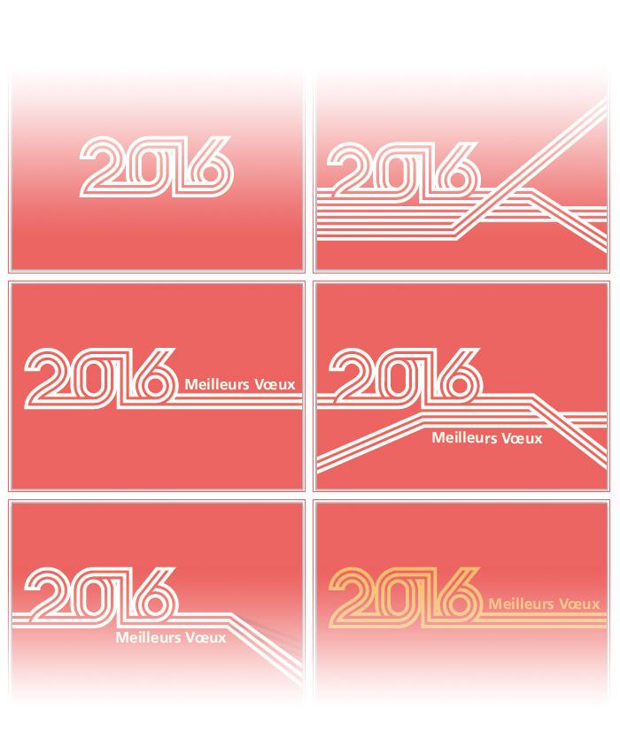 Visuel plan de travail Illustrator des voeux 2016