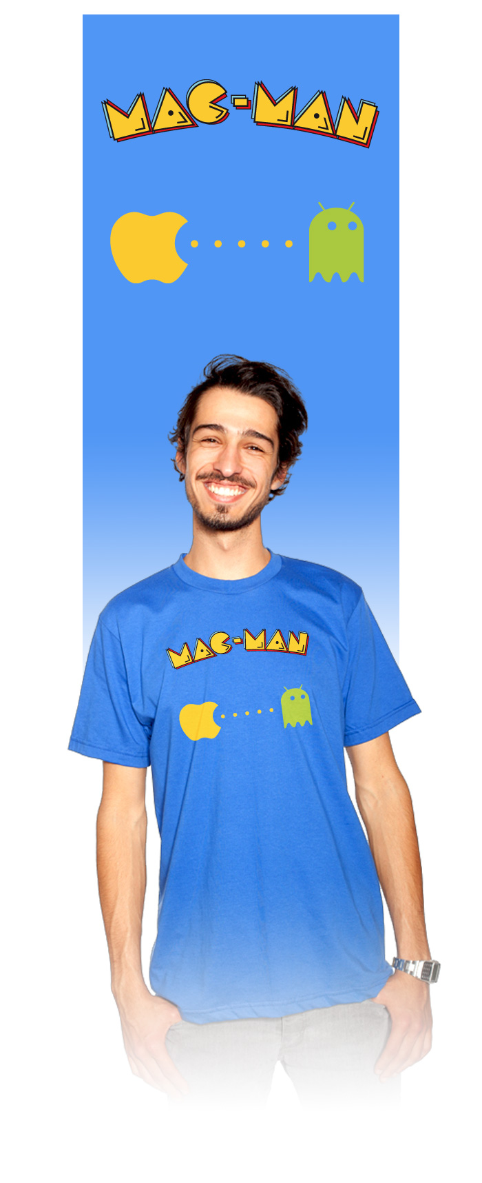 Visuel tee-shirt MAC-MAN