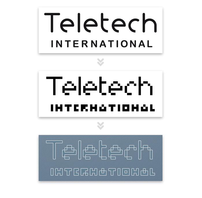 Visuel travail Photoshop sur Teletech International