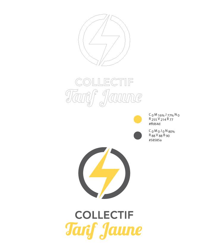 Logo Collectif Tarif Jaune