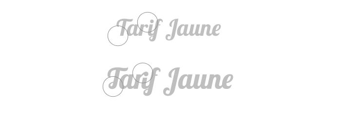 Travail texte Collectif Tarif Jaune