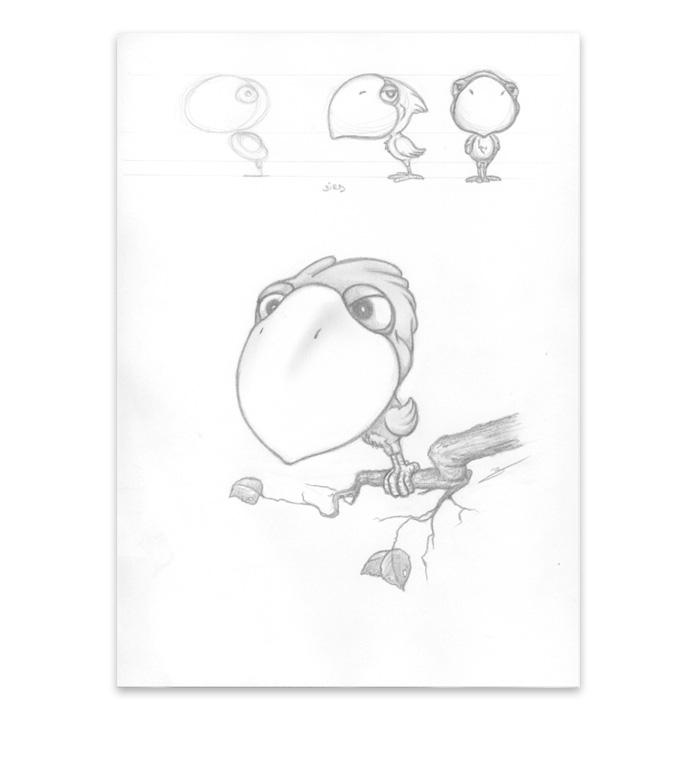 Dessin Birdy