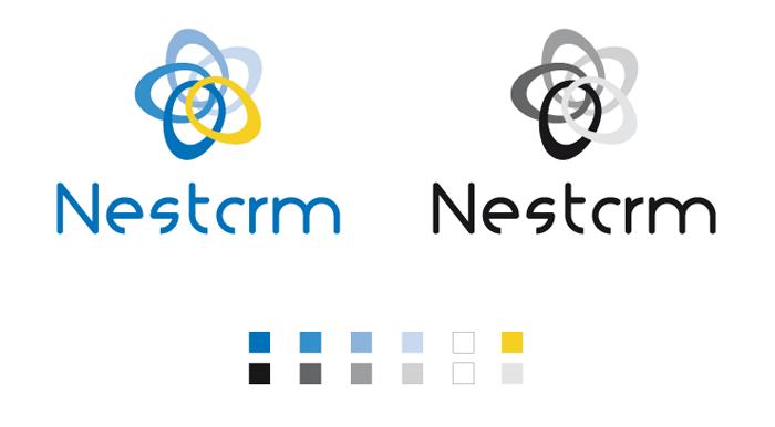 Logotype variante NestCRM