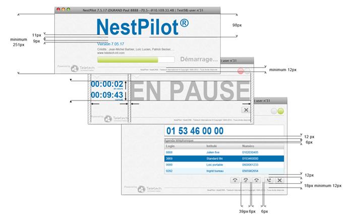 Visuel dimensions écrans NestPilot