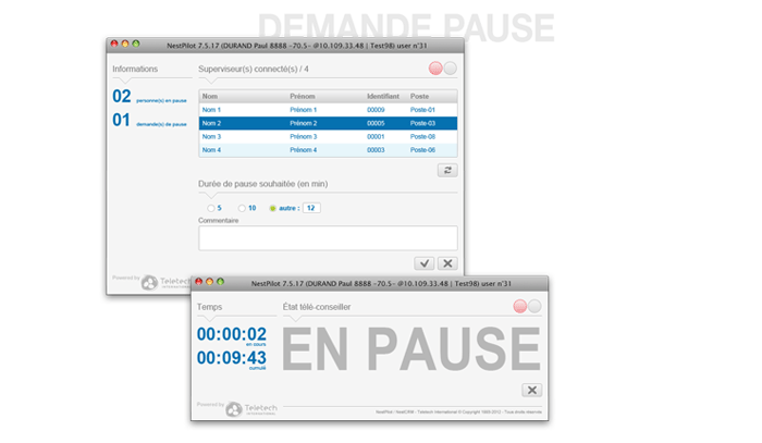 Visuel écran pause NestPilot