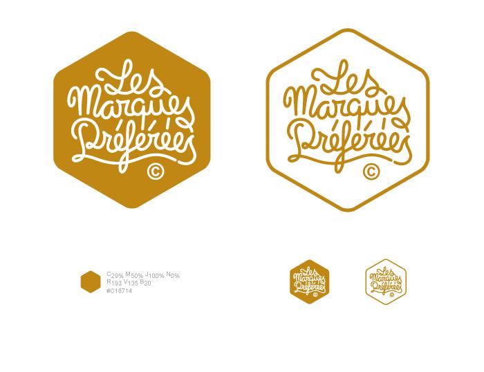 Logotype Les Marques Préférées